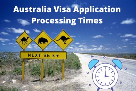 Australia Visa Application Processing Times