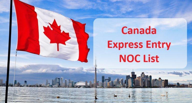Canada Express Entry Occupation List