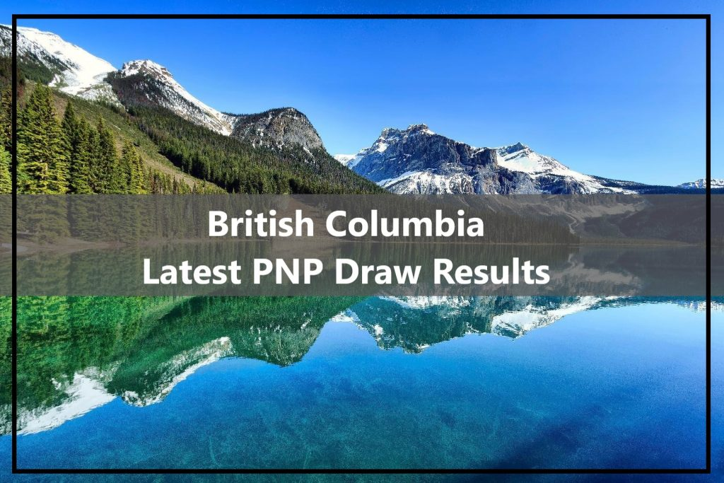 British Columbia PNP Draw 19th May 2020
