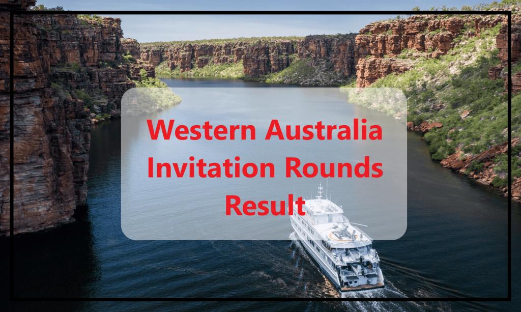 Western Australia Invitation Rounds 30th April 2020