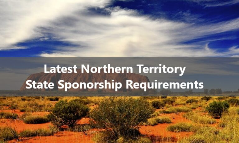 Northern Territory State Sponsorship Requirements
